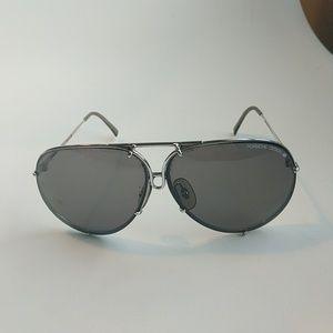 Iconic Porsche Design Aviator sunglasses